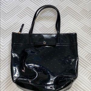 Kate Spade Patent Leather Black Handbag